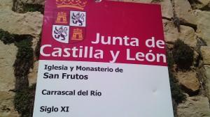 Monasterio de San Frutos del s.XI