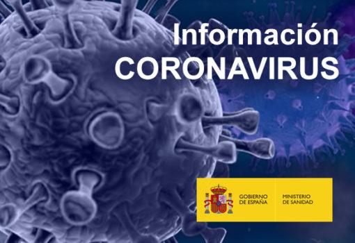 Cartel del Coronavirus (Ministerio de Sanidad)